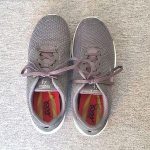 Skechers GogaMax GoWalk 4 Grey Sneakers, Size 7.5